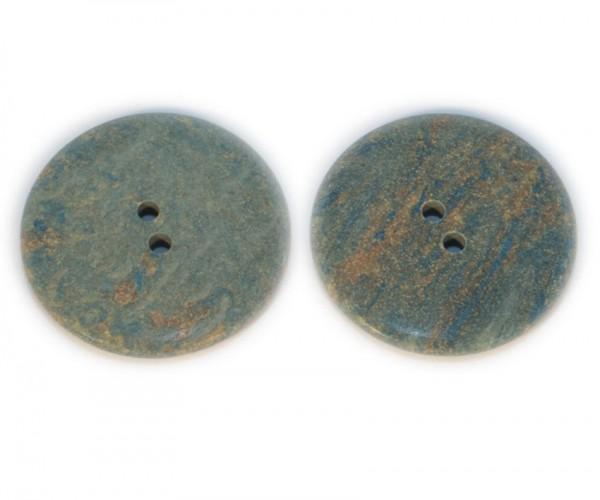 Polyesterknopf Patina, ca.34mm Ø, von Union Knopf