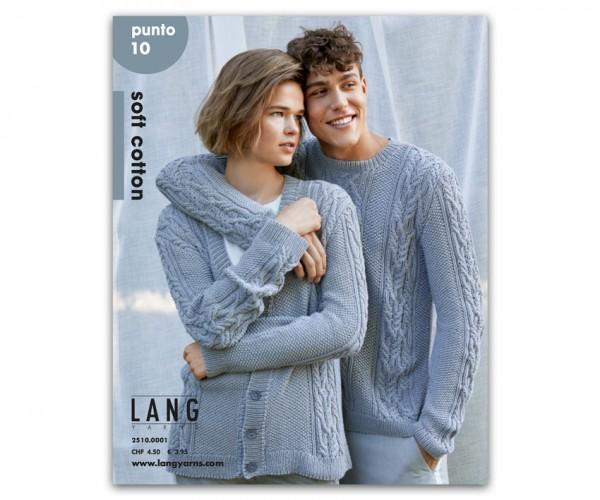 Punto 10 - Modelle aus Soft Cotton - LANG YARNS, Frühjahr 2019