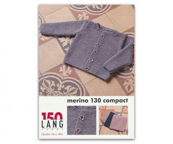 Anleitung Jacke aus Merino 130 Compact von LANG YARNS, Frühjahr 2017