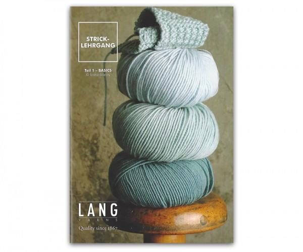 Stricklehrgang Teil 1 - Basics - Lang Yarns