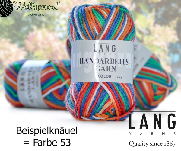 Handarbeitsgarn Color 12-fach von LANG YARNS