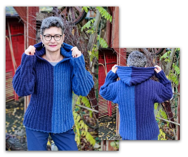 Anleitung Mobile Sweater aus Wooladdicts Air