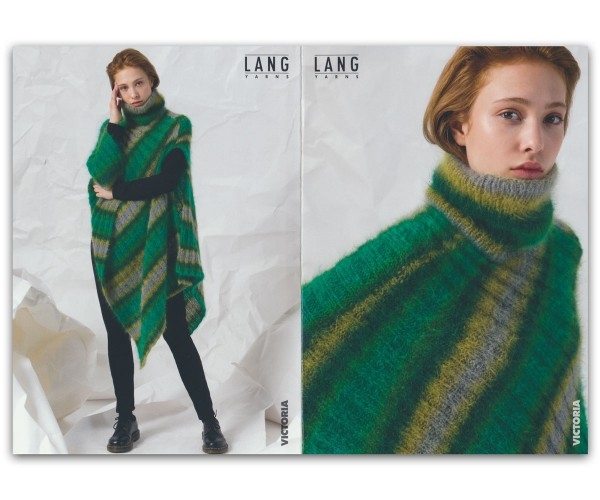 Flyer Cape aus Victoria - LANG YARNS, Herbst 2019