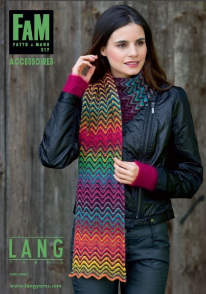 Fatto a Mano 217 Accessoires von LANG YARNS, Herbst 2014