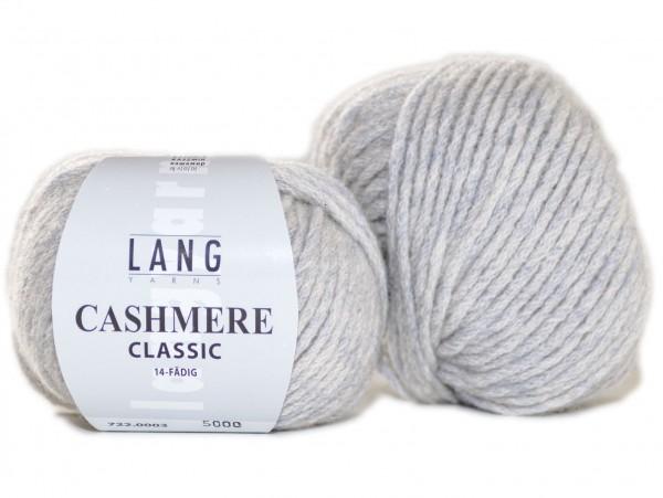 Cashmere Classic Farbe 3 hellgrau mélange