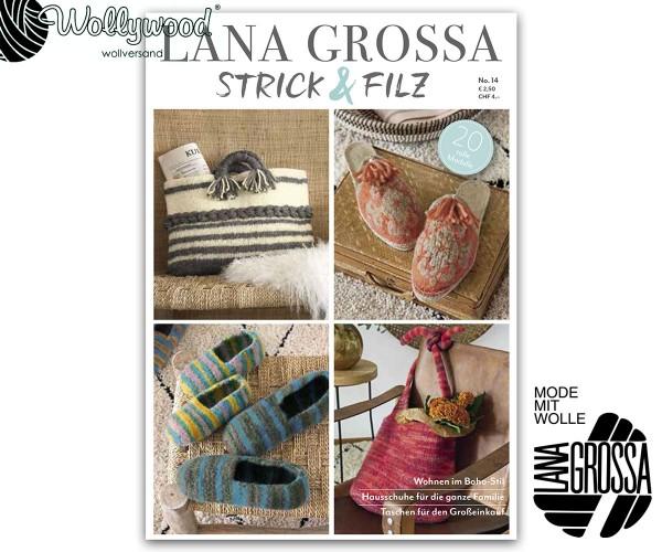 Strick & Filz No. 14 von Lana Grossa, Herbst 2020