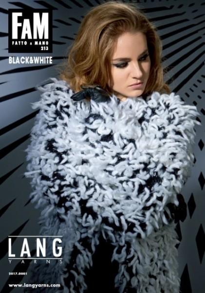 Fatto a Mano 213 Black & White von LANG YARNS, Herbst 2014
