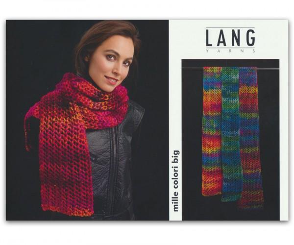 Flyer Schal aus Mille Colori Big von LANG YARNS, Winter 2015