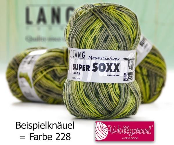 Super Soxx 4-fach Color Mountain Soxx von LANG YARNS