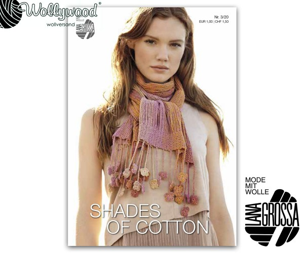 Flyer Shades of Cotton Nr. 3 von Lana Grossa, Frühjahr 2020