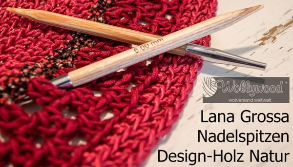 Nadelspitzen Vario Design-Holz Natur von Lana Grossa