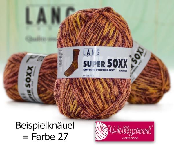 Super Soxx Cotton Stretch 4-fach von LANG YARNS