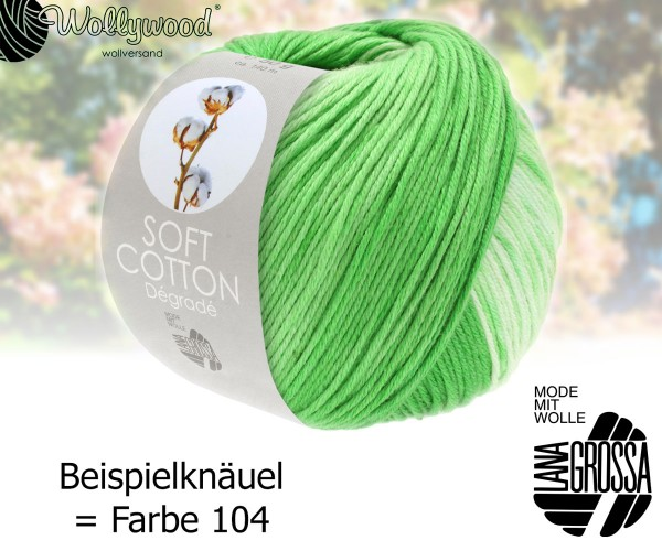 Soft Cotton Dégradé von Lana Grossa