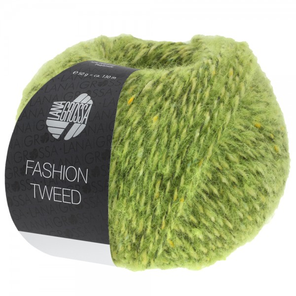 Fashion Tweed Farbe 7 hellgrün meliert