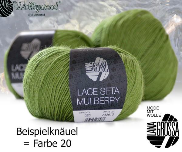 Lace Seta Mulberry von Lana Grossa
