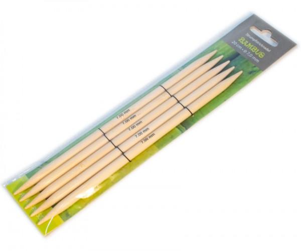 Strumpfstricknadeln aus Bambus von Lana Grossa
