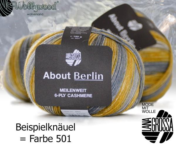 About Berlin Meilenweit 6-fach Cashmere 150g von Lana Grossa