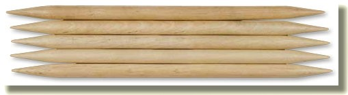 Strumpfstricknadeln Big & Easy Naturholz von Lana Grossa