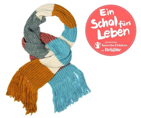 Fertigschal, Ein Schal fürs Leben 2020, incl. Spende