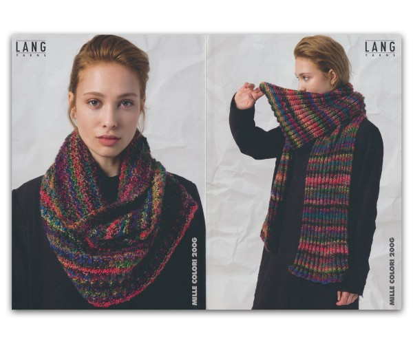 Flyer Mille Colori 200g (2 Accessoires) - LANG YARNS, Herbst 2019