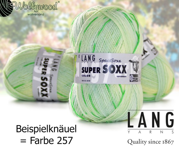 Super Soxx 4-fach Color Space Soxx von LANG YARNS