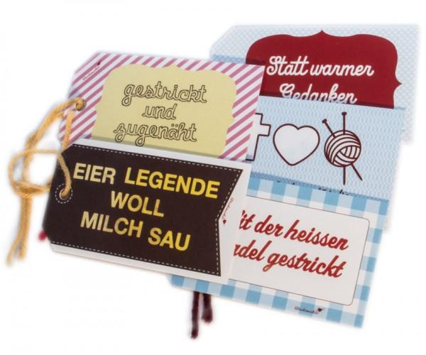 Geschenkanhänger von Strickimicki