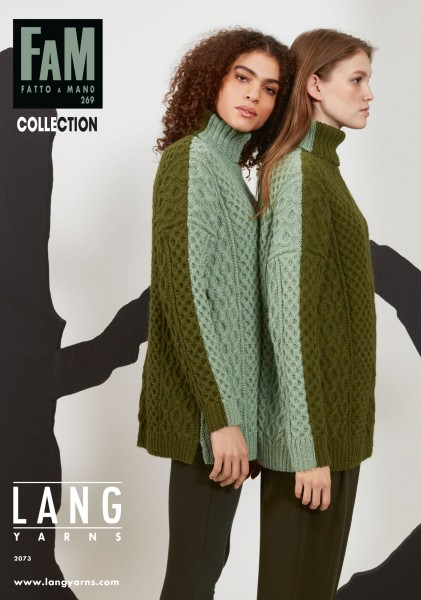 Fatto a Mano 269 Collection von LANG YARNS, Herbst 2021