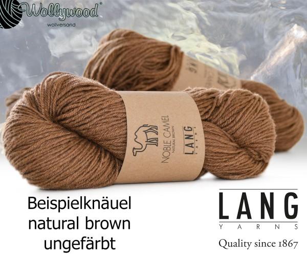 Noble Camel - natural brown - von LANG YARNS