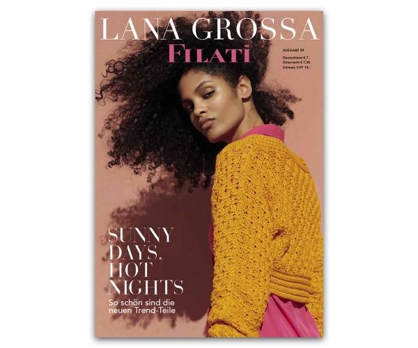 Filati Journal 59 von Lana Grossa, Frühjahr 2020
