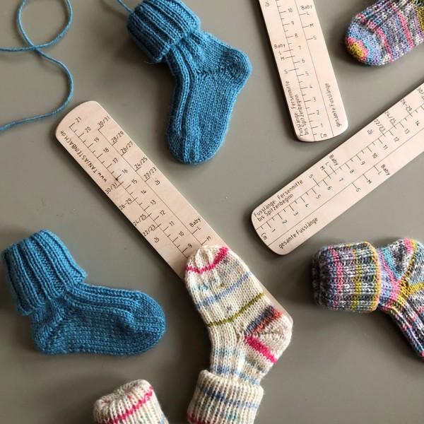 Tanja Steinbach Sockenlineal Baby