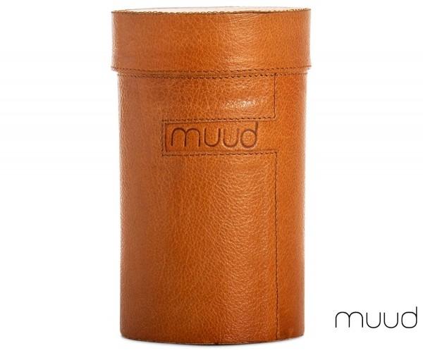 Mountain - Handgefertigte Lederbox von muud (whisky)