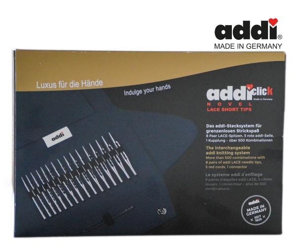 Novel LACE Set mit kurzen Spitzen addiClick-System