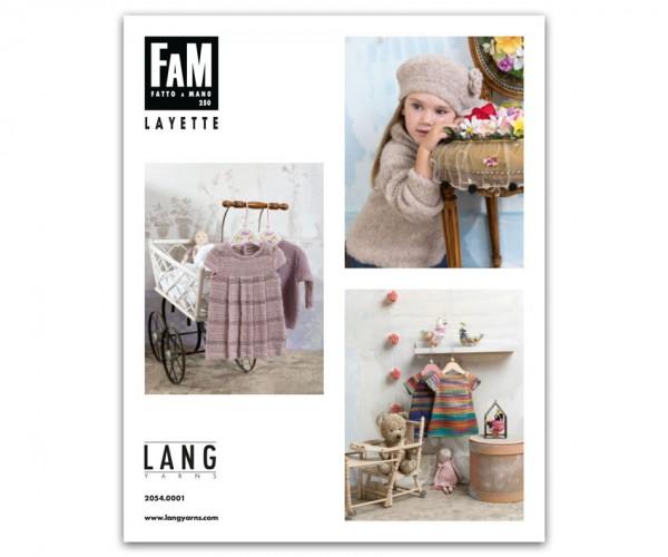 Fatto a Mano 250 Layette von LANG YARNS, Frühjahr 2018