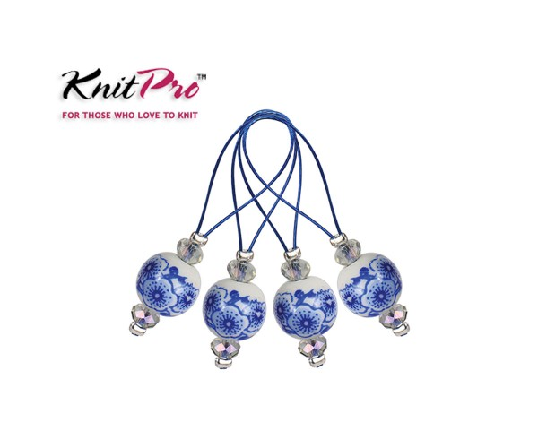 Maschenmarkierer Blooming Blue 12 Stück von KnitPro