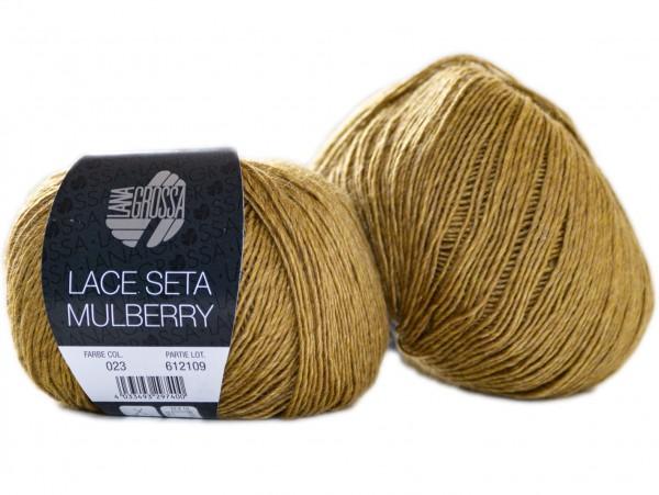 Lace Seta Mulberry by Lana Grossa