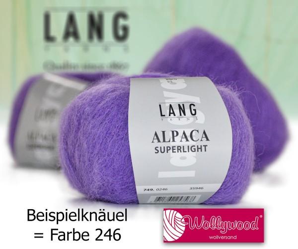 Alpaca Superlight von LANG YARNS