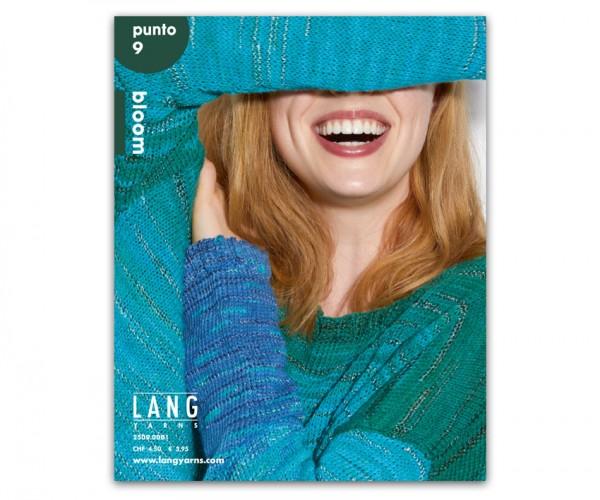Punto 9 - Modelle aus Bloom - LANG YARNS, Frühjahr 2019