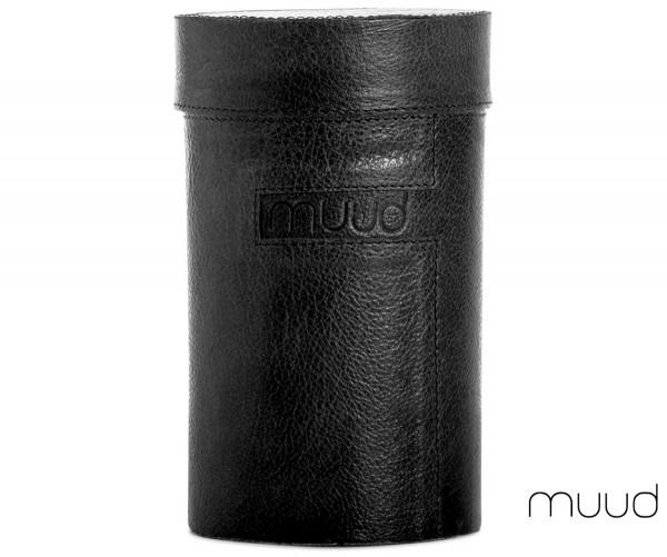 Mountain - Handgefertigte Lederbox von muud (schwarz)