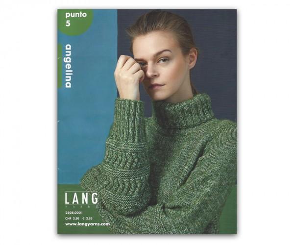 Punto 5 - 5 Modelle aus Angelina - LANG YARNS, Herbst 2018