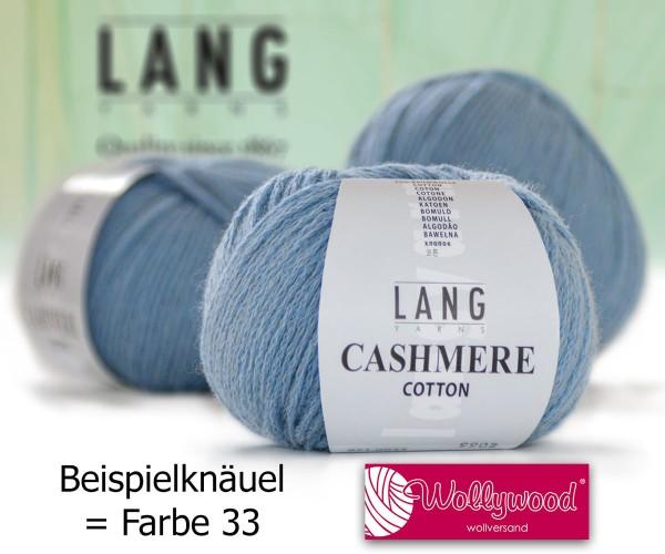 Cashmere Cotton von LANG YARNS