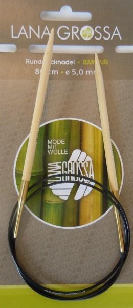 Rundstricknadeln aus Bambus von Lana Grossa