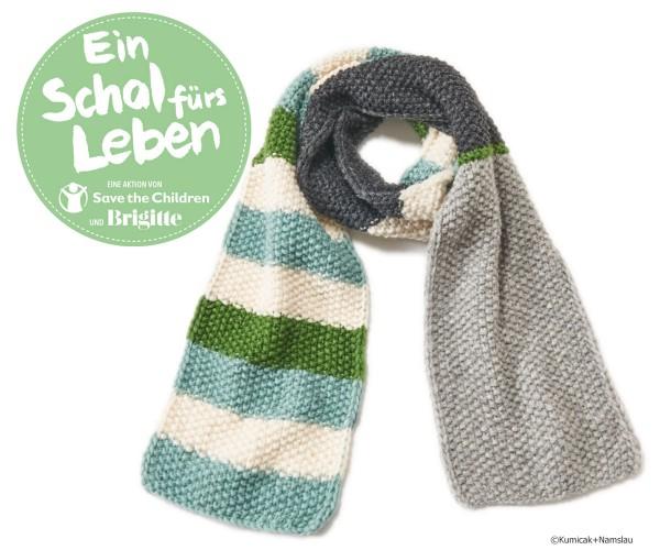 Fertigschal, Ein Schal fürs Leben 2019, incl. 10€ Spende