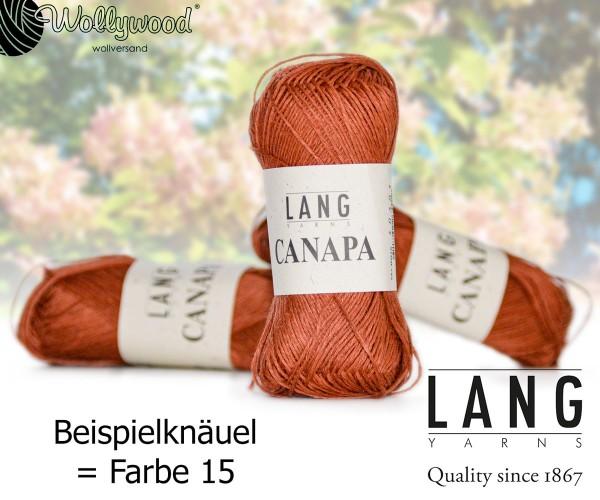 CANAPA von LANG YARNS