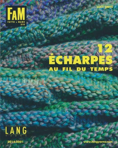 Fatto a Mano 210 Schals von LANG YARNS, Herbst 2014