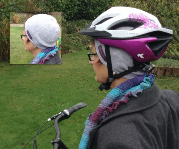 """Gratisanleitung """"Fahrradmütze aus Cool Wool Baby"""""""