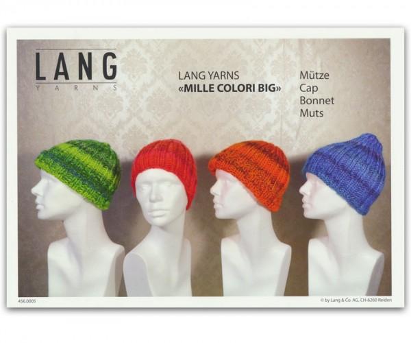 Flyer Mütze aus Mille Colori Big von LANG YARNS, Winter 2015