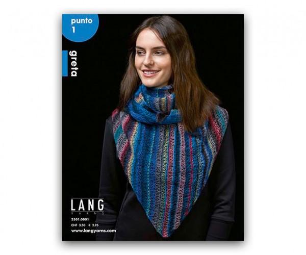 Punto 1 - 9 Modelle aus Greta - LANG YARNS, Herbst 2018