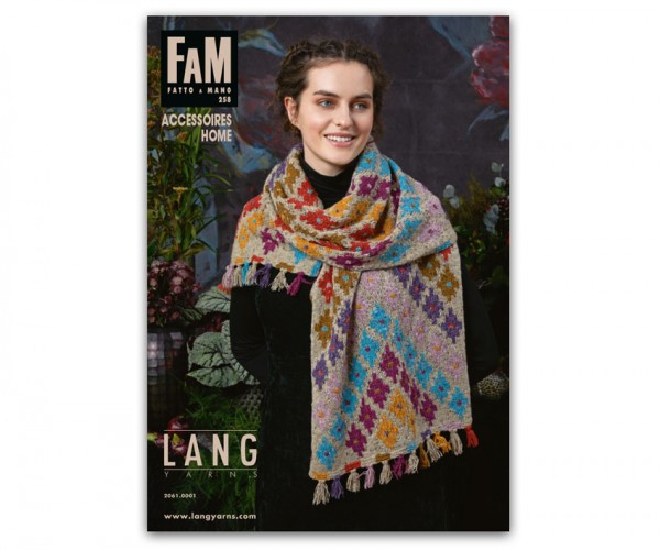 Fatto a Mano 258 Accessoires + Home von LANG YARNS, Herbst 2018