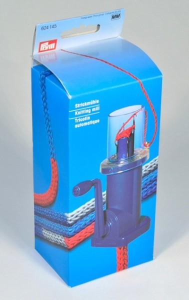 Strickmühle Mini pflaumenblau