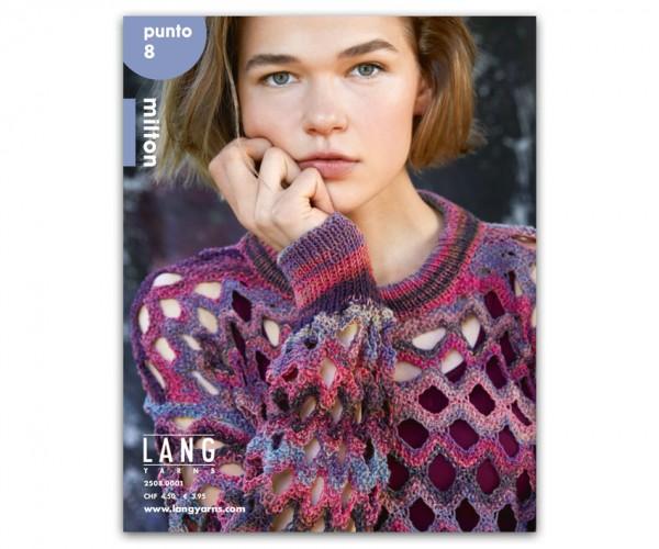 Punto 8 - Modelle aus Milton - LANG YARNS, Frühjahr 2019
